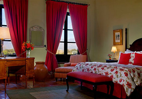 Suites rooms at the Hotel Patios de Cafayate