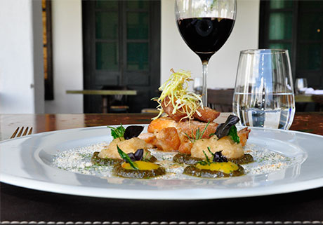 Cocina y vinos en el Hotel Patios de Cafayate