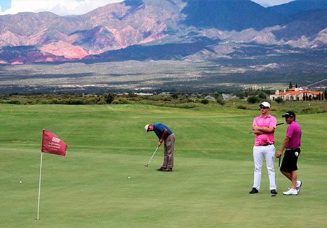 Golf y Spa en Cafayate